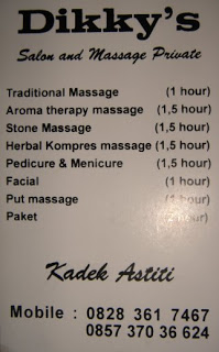 A luxury holiday in Ubud Bali is not complete without a massage