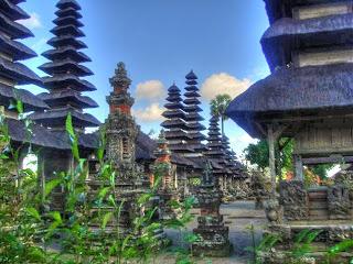 Vanuit Villa Ubud op day trip naar Pura Taman Ayun