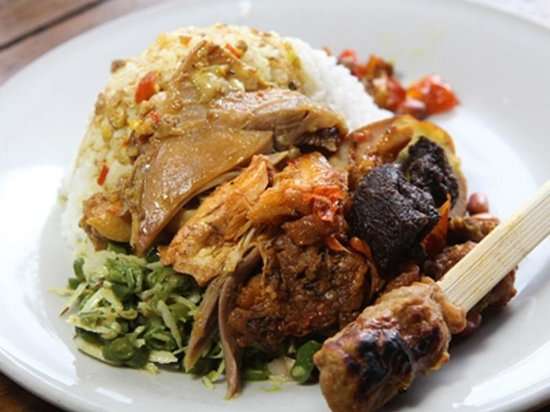 Bali Food bij Ibu Mangku in Kedewatan