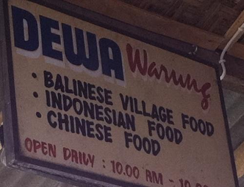 Dewa Warung in Jl. Gootama, Ubud
