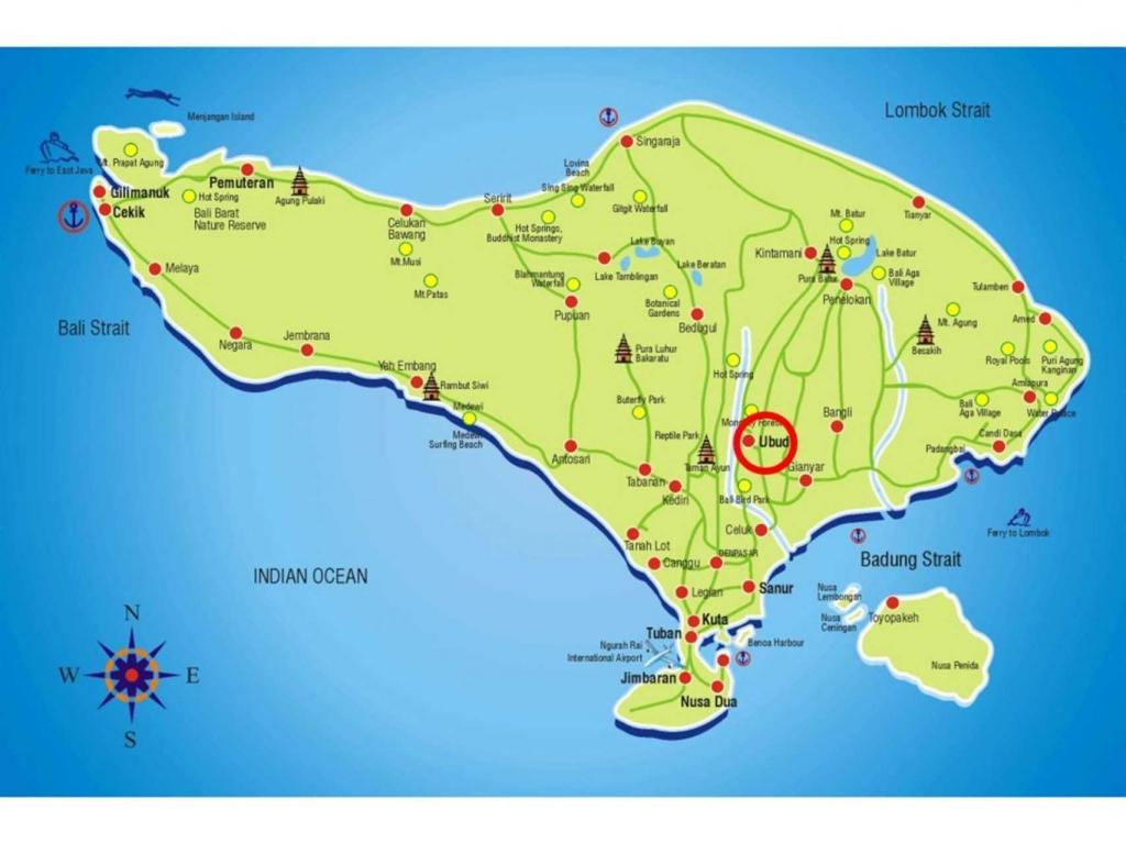 Bali-Map-Ubud