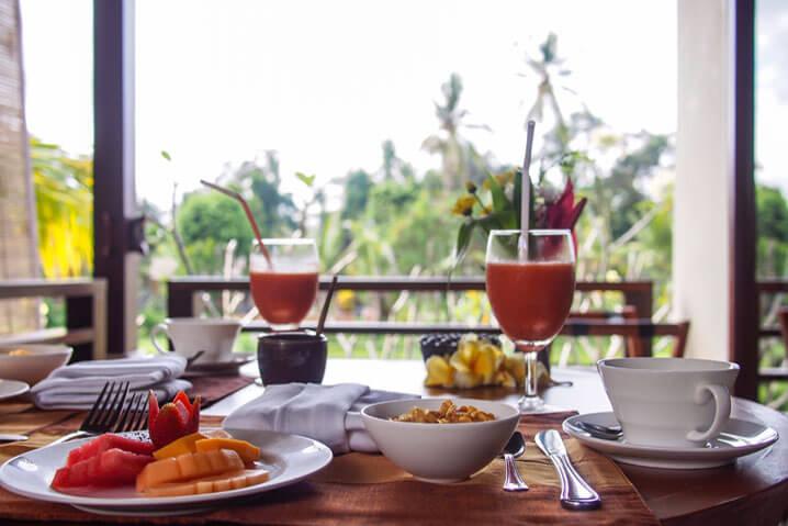 Villa Sabandari - Ubud - Bali - Breakfast