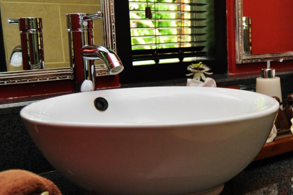 Bathroom in Kecak room at Villa Sabandari a boutique hotel in Ubud