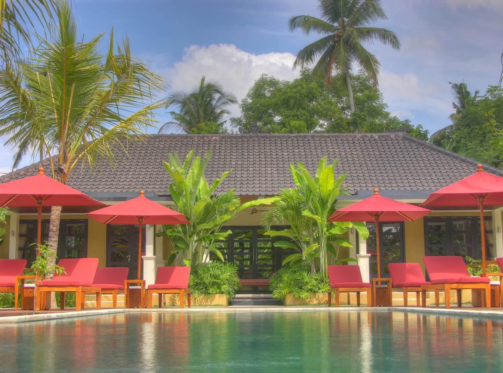Boutique hotel ubud bali villa sabandari for Garden pool villa ubud village resort